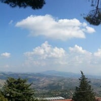 Photo taken at Ariano Villa Comunale by Gianluca P. on 8/24/2013