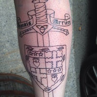Photo taken at Strange Brew Tattoo by Stuart C. on 4/21/2014