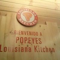 Photo taken at Popeyes Louisiana Kitchen by Dora Lucia V. on 1/15/2013