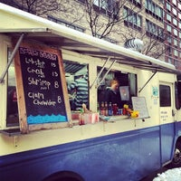 Photo taken at Nauti Mobile - Luke's Lobster Truck by Quinton M. on 1/5/2014