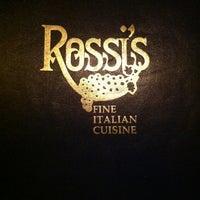 Photo taken at Rossi's Italian Restaurant by Autumne B. on 2/18/2013