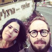 Photo taken at Herzliya Studios by Jonathan K. on 2/27/2014