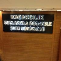 Photo taken at İstanbul Emniyet Müdürlüğü Mali Suçlarla Mücadele Şube Müdürlüğü by Murat K. on 12/18/2014