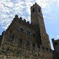 Photo taken at Castello di Poppi by Federico B. on 8/16/2017