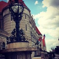 Photo taken at MetroLink - Union Station by Michael K. on 7/18/2014