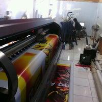 Photo taken at Mega Warna Digital Printing by Elkana H. on 11/13/2013