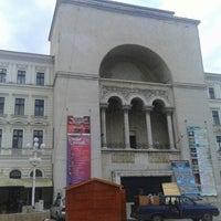 Photo taken at Teatrul Național Timișoara by ΓΕΡΟΣ on 4/20/2015