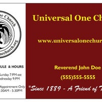 Photo taken at Universal One Church, Inc. by Universal One Church, Inc. on 4/13/2015