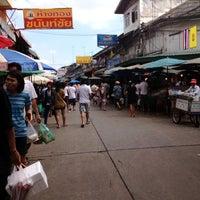 Photo taken at Mahachai Market by dangnoi L. on 11/18/2012