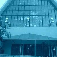 Photo taken at Parroquia de Nuestra Señora Aparecida del Brasil by Josue V. on 10/20/2012