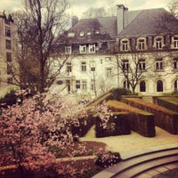 Photo taken at Banque de Luxembourg by Vasilisa T. on 4/18/2013