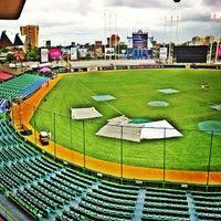 Photo taken at Estadio Hiram Bithorn by María L. on 3/5/2013