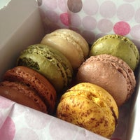 Photo taken at Le Macaron French Pastries by María L. on 3/24/2014