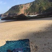 Photo taken at Playa de Ballota by Chuli on 9/7/2016