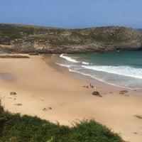 Photo taken at Playa de Ballota by Chuli on 9/9/2016