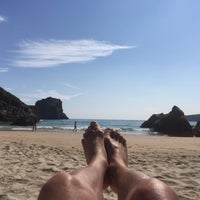 Photo taken at Playa de Ballota by Chuli on 7/19/2017