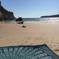 Photo taken at Playa de Ballota by Chuli on 8/13/2017
