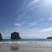 Photo taken at Playa de Ballota by Chuli on 8/11/2017