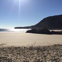 Photo taken at Playa de Ballota by Chuli on 8/20/2017