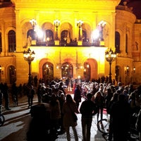Photo taken at Alte Oper by Jonathan S. on 10/12/2012