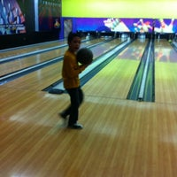 Photo taken at StrikeXity Bowling by Amne A. on 1/27/2014