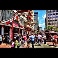Photo taken at Feira de Arte, Artesanato e Cultura da Liberdade by Juan C. on 11/18/2012