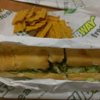 Photo taken at Subway by Jonathan A. on 12/13/2012