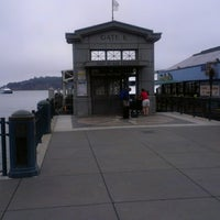 Photo taken at Gate E - Alameda/Oakland/Harbor Bay Ferry Dock by Jonathan A. on 8/11/2013
