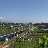 Photo taken at 安中鉄橋 by suchan 0. on 9/10/2017