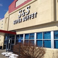 Photo taken at S&S Super Buffet by Abdulrahman A. on 2/26/2014