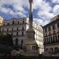 Photo taken at Piazza dei Martiri by Serena B. on 12/8/2012