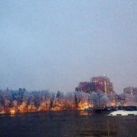 Photo taken at Парковка стадиона «Сатурн» by N J. on 3/31/2014