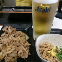 Photo taken at Yoshinoya by minuma _. on 10/14/2016