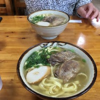 Photo taken at 沖縄の味 アワセそば食堂 by nao450430 on 12/31/2016