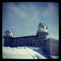 Photo taken at Gornergrat by Alexey S. on 2/25/2013