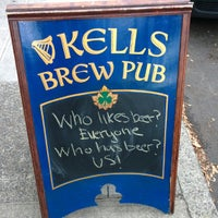 Photo taken at Kells Brewery by Tyler S. on 9/4/2013