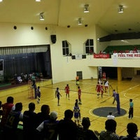 Photo taken at Social Centre Indoor Court by Hawwa A. on 10/6/2015
