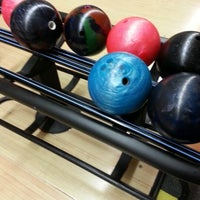 Photo taken at Waveland Bowl by Audra A. on 1/12/2013