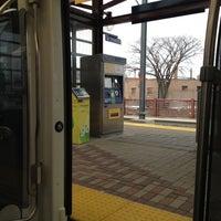 Photo taken at Franklin Avenue LRT Station by Jeff J. on 4/25/2013