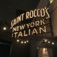 Foto scattata a Saint Rocco's New York Italian da Jeff J. il 12/8/2016