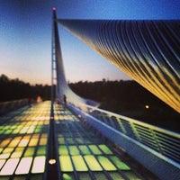 Photo taken at Sundial Bridge by Alex P. on 6/6/2013