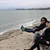 Photo taken at Deniztur Sahili by Seda on 4/5/2018