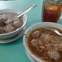 Photo taken at Bakso Amat by Teguh T. on 3/14/2013