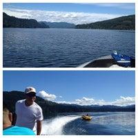 Photo taken at Merwin Lake by Ian V. on 9/2/2013