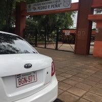 Photo taken at Colegio Nacional de EMD Dr. Pedro P. Peña by Natalia  on 4/20/2017