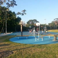 Photo taken at Prince Alfred Park by Erick G. on 1/7/2013