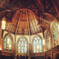 Photo taken at Church of the Holy Trinity (Episcopal) by Megan L. on 12/2/2012