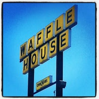 Photo taken at Waffle House by Aunt B. on 1/25/2014