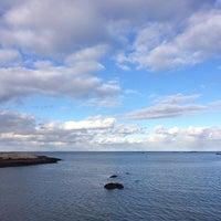 Photo taken at Sandy Cove by Kayvon T. on 11/30/2013