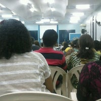 Photo taken at Igreja da Paz by Gabriel J. on 1/19/2014